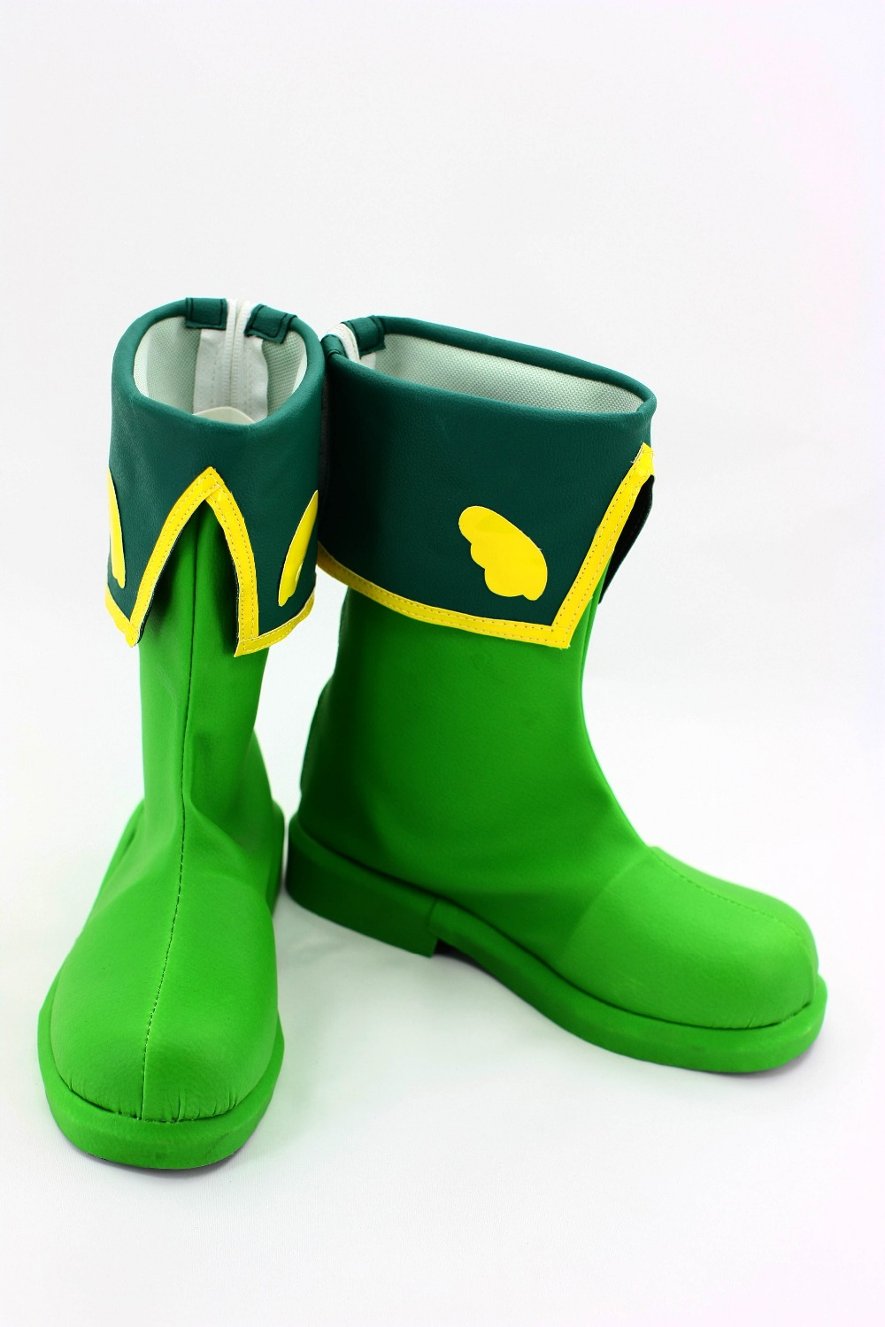Hot New Japanese Anime Cardcaptor Sakura Cosplay Sakura Shoes With Green Color For Adult