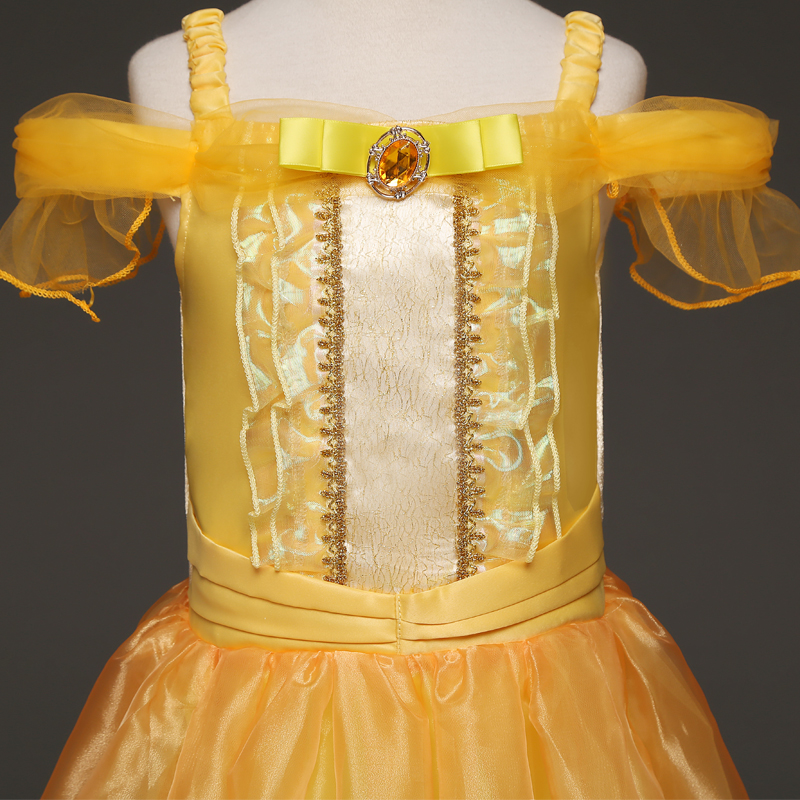 HTB1CAK vDqWBKNjSZFAq6ynSpXaE 2019 Children Girl Snow White Dress for Girls Prom Princess Dress Kids Baby Gifts Intant Party Clothes Fancy Teenager Clothing