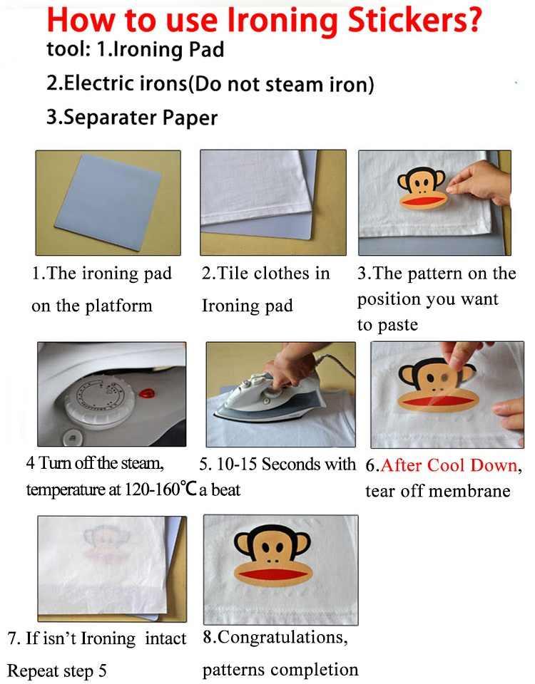 Fashion Surf 23X23 Cm Parchs Besi Pada Stiker Dicuci Appliques Yang Tingkat Patch Transfer Panas untuk DIY aksesori Pakaian Jeans