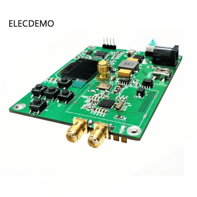 Image 2 - Модуль HMC830 с фазовой блокировкой петли PLL Модуль 25 M 3g с OLED бортовым микроконтроллером RF источник сигнала последовательный порт-in Аксессуары для демонстрационных стендов from Компьютер и офис