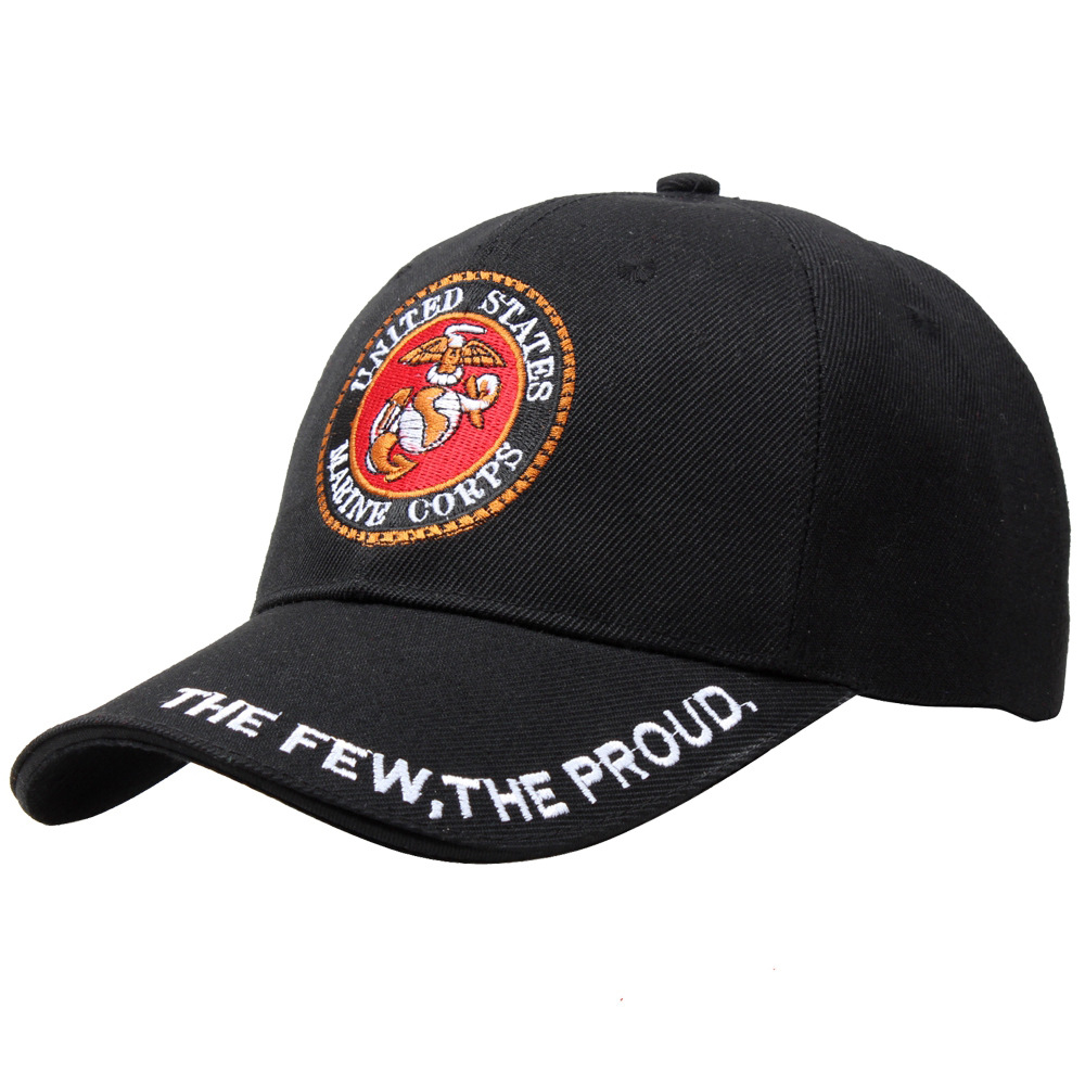 Band of Brothers The Few The Proud Marine Corps Baseball Cap Cotton Outdoor Adjustable Snapback Gorras Hip Hop Men Women Sun Hat a few of the girls