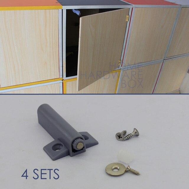4 Cabinet Push To Open Door Catch Magnetic Damper