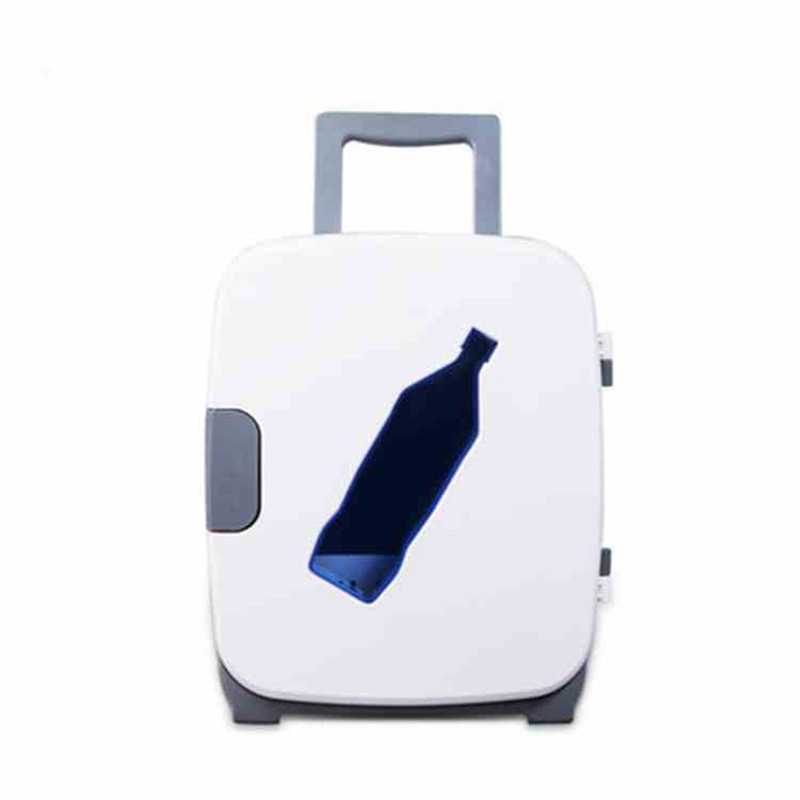 13L Cute Mini Portable Electric Refrigerator DC12V AC220V Cooling And Warming Machine For Home Or Car Using Mini Refrigerator