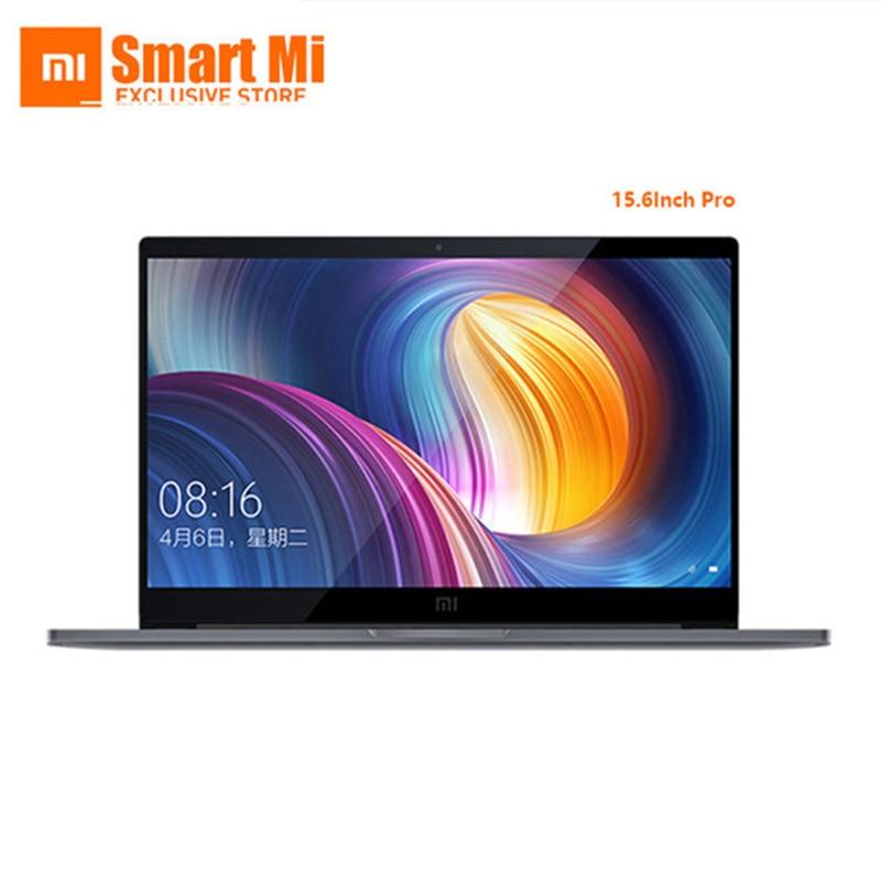 Оригинал Сяо mi ноутбук Pro 15,6 дюймов Intel 4 ядра NVIDIA GeForce MX150 1920x1080 FHD отпечатков пальцев разблокировать темно- серый