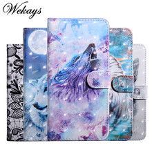 Wekays Cover For Zen Phone Max Plus M1 ZB570TL Cartoon Leather Fundas Case For Coque Asus Zenfone Max Plus M1 ZB570TL Cover Case
