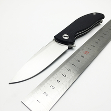 WLT Brand Tactical knife 9CR18MOV blade G10 handle ball bearings F3 Flip survival camping knife outdoor tools folding knife EDC