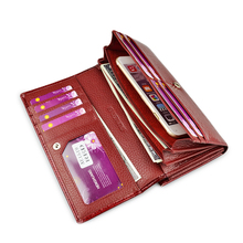 Women Genuine Leather Wallet Model 4