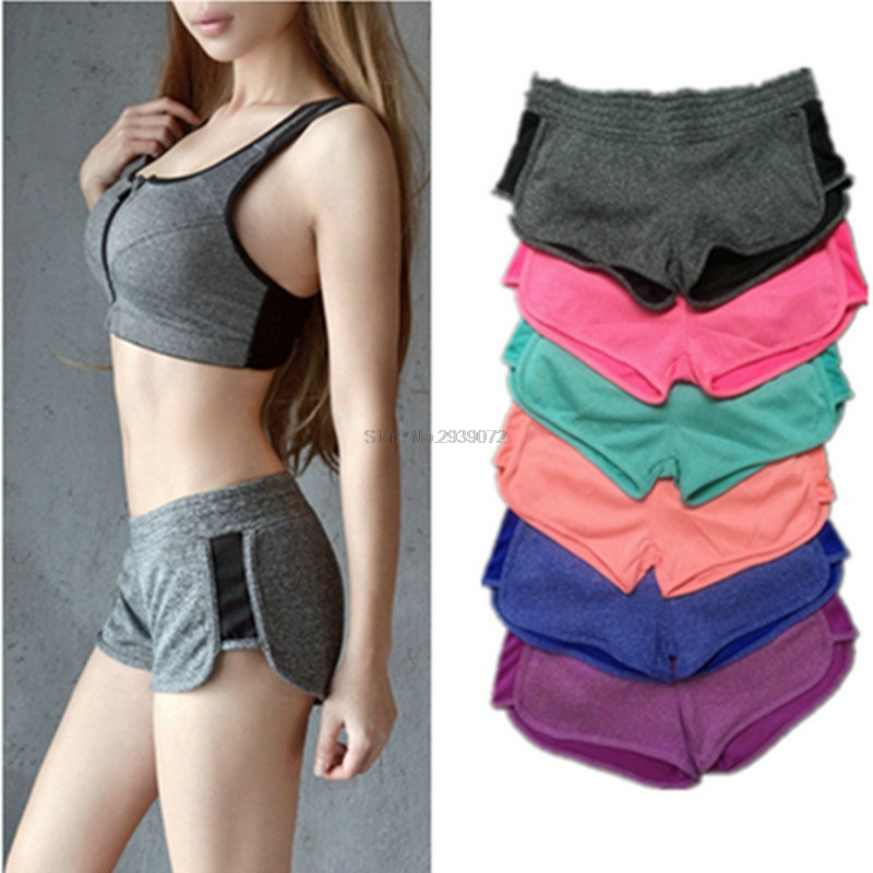 Women Breathable Sexy Gym Yoga Shorts Lulu Training Sports Wear Jogging Marathon Fitness Leggings Short Athletic Workout Clothes 2017 women compression sexy gym yoga shorts lulu training sports short jogging cycling fitness leggings athletic workout clothes