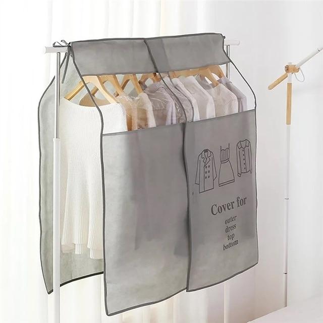Kleidung Abdeckungen In Den Schrank Kleiderschrank Tasche Abdeckungen Für Hochzeit Kleid Pelz Mäntel Kleidung Vliesstoff Staub Abdeckungen