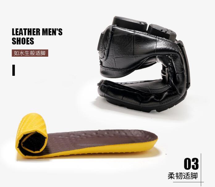 Cuir Plein Masculins En Mocassins 4 Décontractées slip 2 1 Chaussures Loisirs 3 Véritable Homme Size13 Homens Non Hommes Air De 2019 Printemps Sport 6AAxw47q