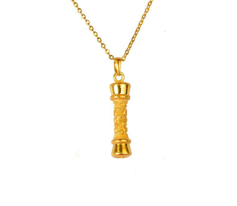 Authentique 999 24 K pendentif en or jaune massif 2.43gAuthentique 999 24 K pendentif en or jaune massif 2.43g