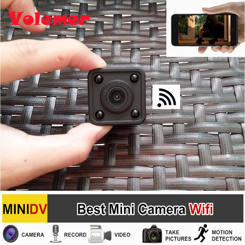 Volemer 2017 New Full HD Video 1080p DV DVR Mini Wifi Camera Wireless Infrared Night Vision With Motion Detection Camcorder Cam midi dj контроллер samson graphite md13