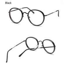 Vintage Hombres Mujeres Marco de gafas de Sol de Metal Diseñador de la Marca de Lujo Del Leopardo Hembra Lente Del Espejo Del Marco Único En Forma de Gafas de Sol W1
