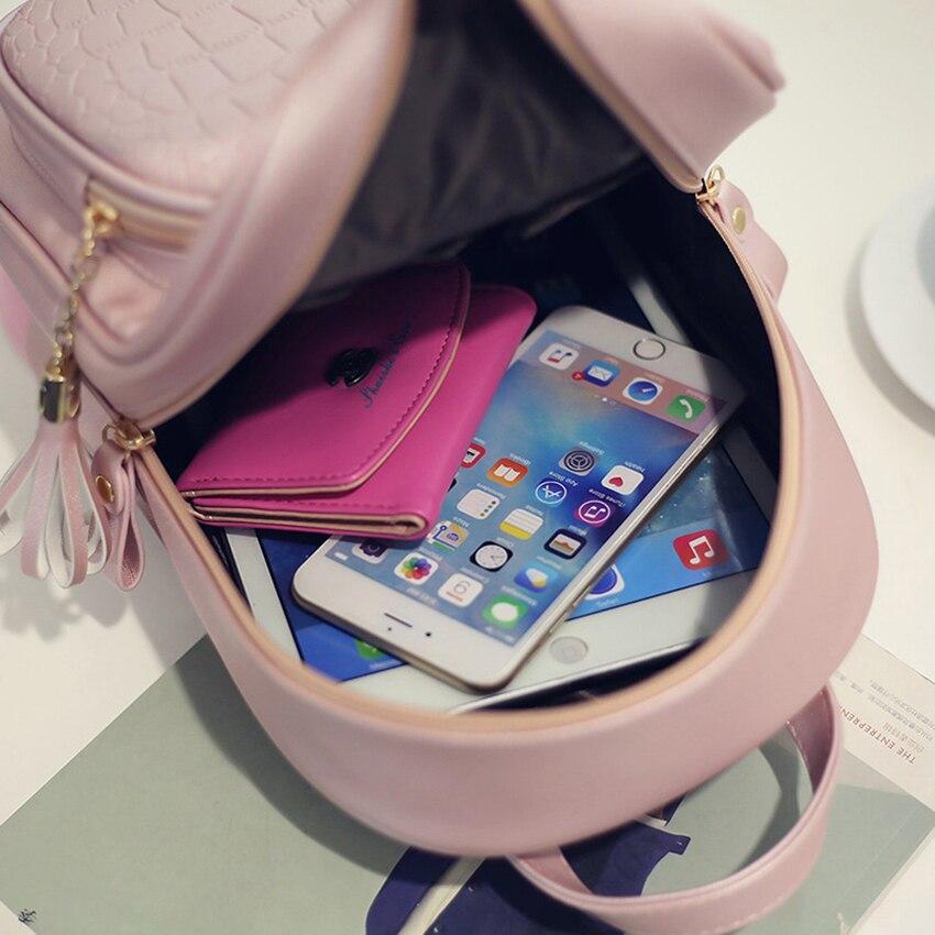 pequena rosa mochilas escolares mochila Estilo : Cheap Backpacks