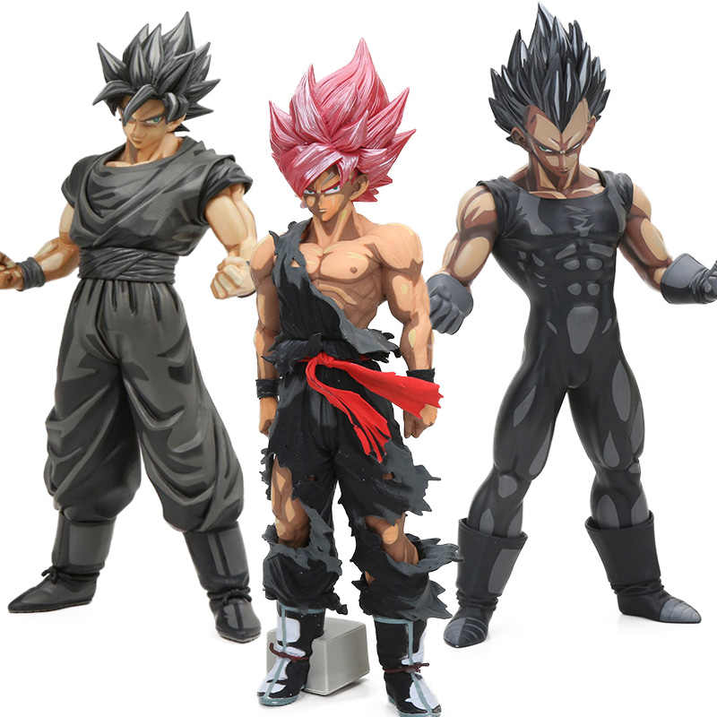 26-34cm MSP Master Stars Piece Chocolate Son Goku Vegeta PVC Action Figures Manga Dimensions Dragon Ball Z Collection Model Doll