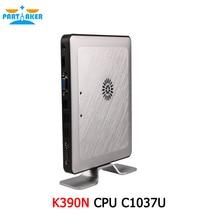 Портативный Dual Core Ubuntu Mini PC с 1037u 1.8 ГГц Процессор K390N Ультра-низкое Энергопотребление