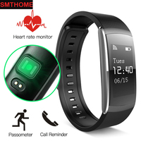 IP67 Waterproof Smartband I6 Pro Smart Band Real Time Heart Rate Monitor Smart Bracelet Sport Sleep