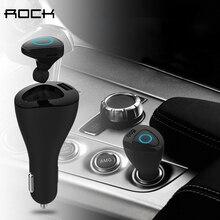 ROCK Bluetooth aux Молоток Автомобильный Телефон Зарядное Устройство И автомобиль для укладки Bluetooth Наушники, Bluetooth гарнитуры и автомобильного комплекта телефона