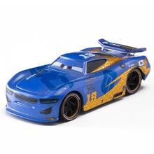 Disney Pixar Cars 2 3 No.19 Racing Car Lightning McQueen Jackson Storm Cruz Mater 1:55 Diecast Metal Alloy Model Toy Gifts