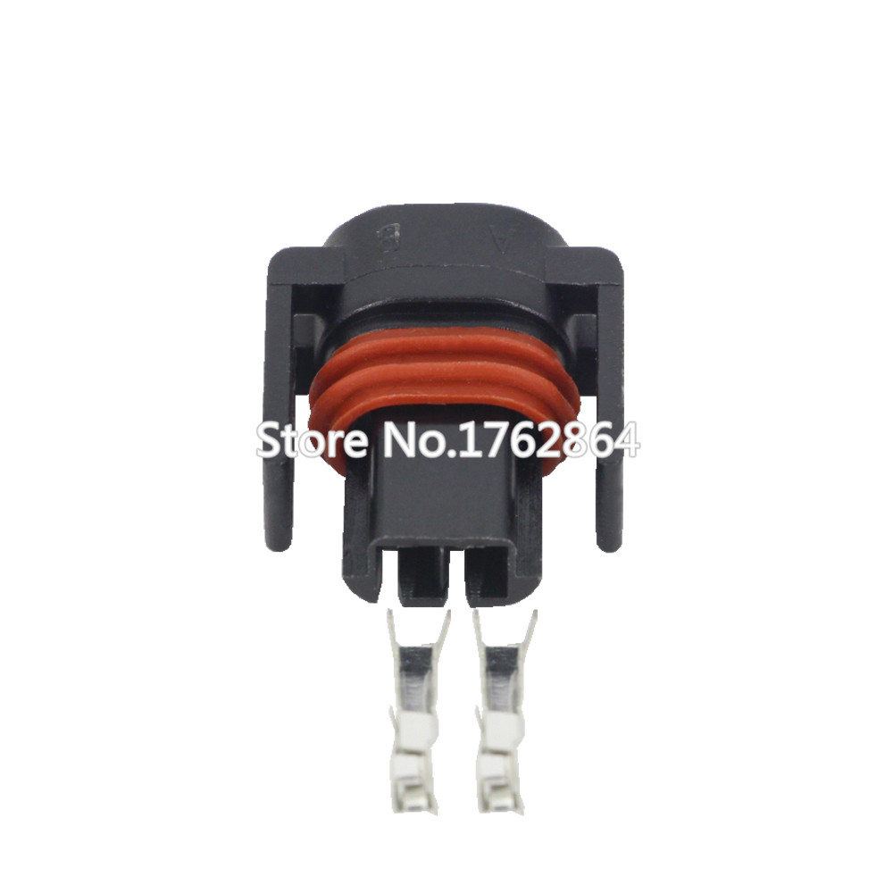 5 Pcs 2pin Automotive Wiring Harness Connector Plug With Tools Terminal Dj7027y 15 21 2p