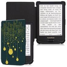 Aroita окрашенные ТПУ мягкий чехол для Pocketbook 616/627/632 Touch LUX4 и основные LUX 2 электронная книга с Авто Режим сна/Пробуждение» нежный крышка