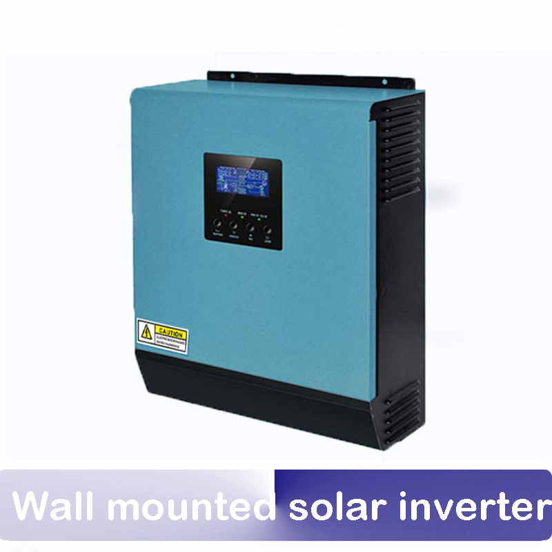 170V-280VAC 3KW 5KW 24v 48v Off-Grid Inverter built-in MPPT wall mounted solar inverter with AC charger and MPPT solar charger hexagonal grid and wavelets in image processing