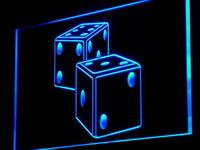 I897 Dice Game Gamble Bar Beer Decor Neon Light Sign On Off Swtich 20 Colors 5