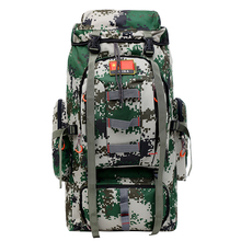80L Tactical Backpack Trekking Waterproof Sport Bag Men Traveling Rucksack Mochila Camping Hiking Fishing Backpack For Bicycle