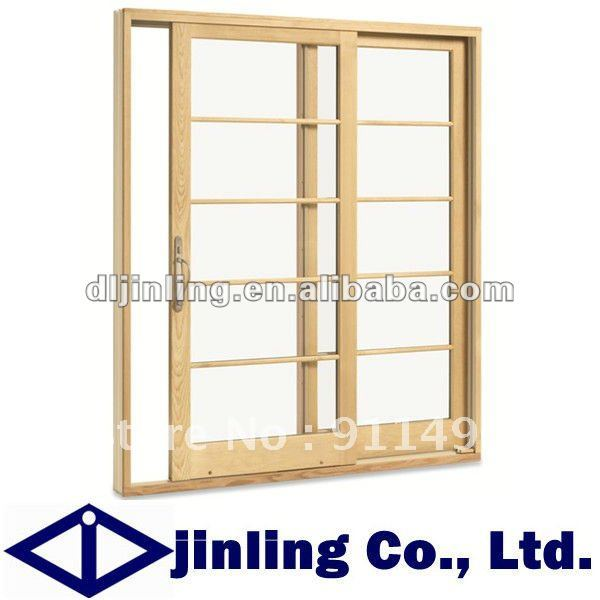 Buy balcony sliding wooden french patio for Wood french patio doors