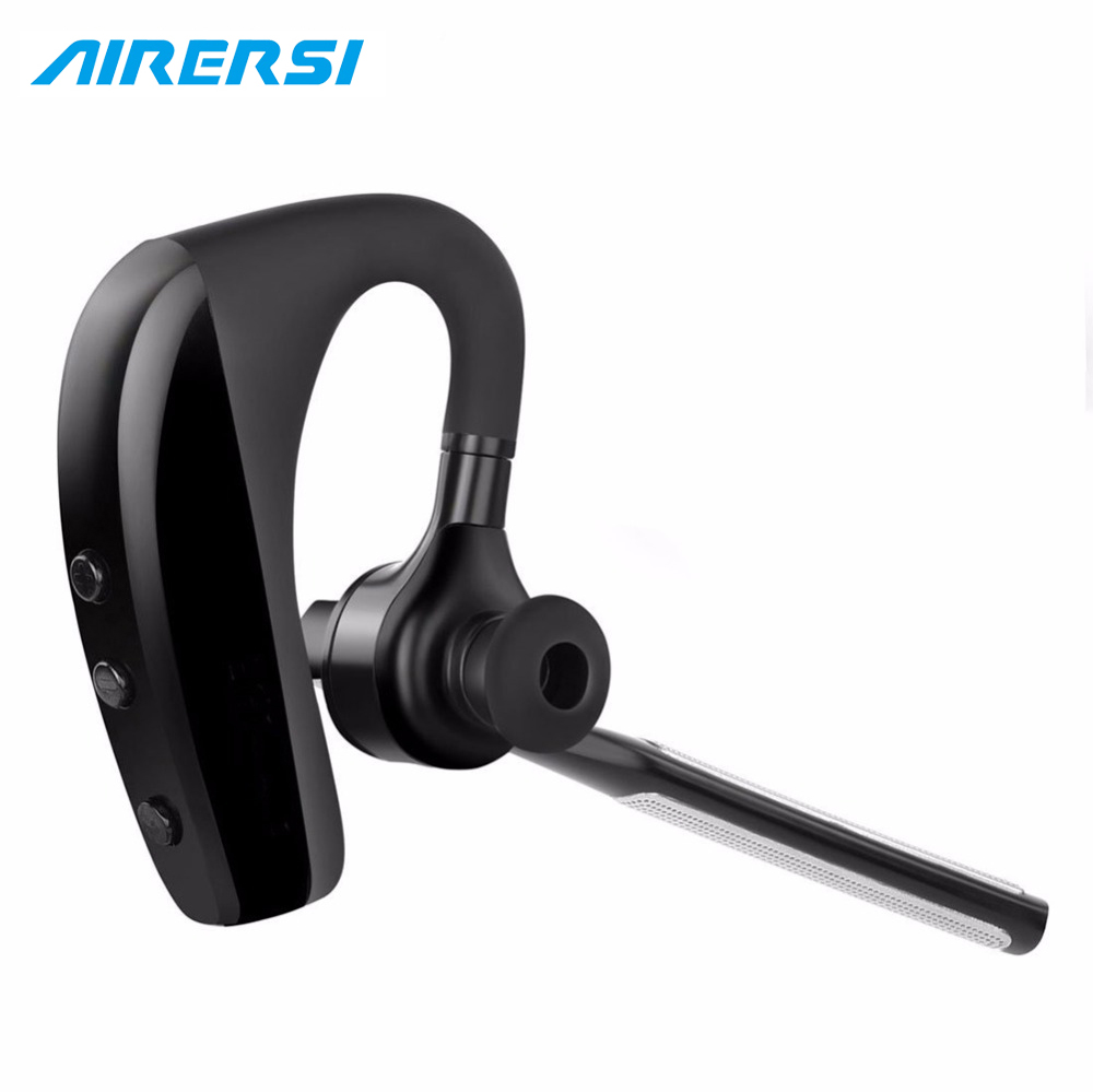 Bluetooth Headset K10 Wireless Earphone Headphones with Mic 9 Hrs Talk Time Hands Free for car Driving for iPhone and Android airersi k6 business bluetooth headset smart car call wireless earphone with microphone hands free and headphones storage box