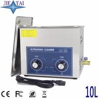 JIETAI Mechanic Ultrasonic Cleaner Bath 10L 240W 40kHz Ultrasonic Cleanning Machine