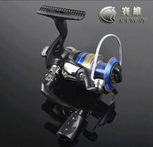 Spinning Reel 4+1 BB 2000 3000 5000 Powerful Metal Salt Water Boat Fishing Reels Reel Fresh Water Left Right Hand FREE SHIPPING