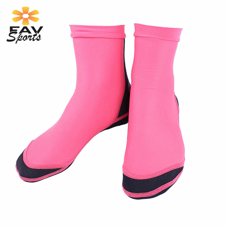 Man en Vrouwen Water Sokken 1.5mm Scuba Neopreen Duiken Laarzen voor Snorkelen Laarzen Zwemmen Water Sport Surfen Schoenen FAVSPORTS