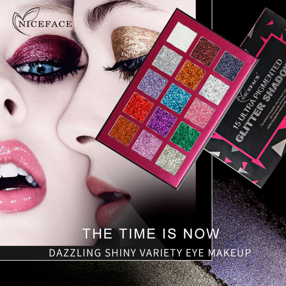In Ultra Matte Shade Eyeshadow Palette Mineral Pigmented High Texture Shimmer Glitter Eye Shadow Makeup Long Lasting Cosmetic Brush Superior Quality