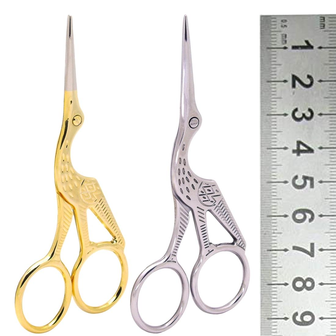 Ручные инструменты кран портновские ножницы вышивки крестом Европейский ретро классический винтаж Craft золото Вышивание ремесленных DIY товары для дома