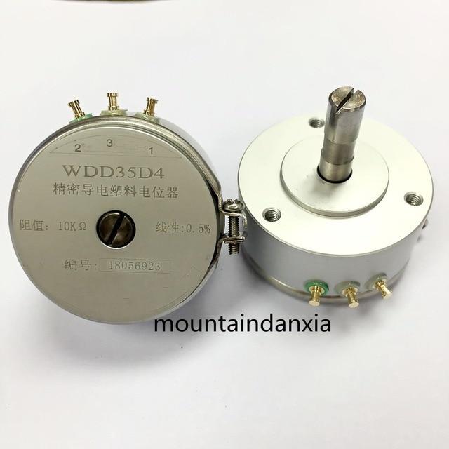 WDD35D4 WDD35D 4 0.5% 10K OHM 2W Condutive Plastic Potentiometer