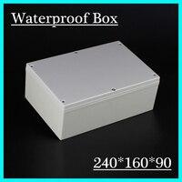 Best Price ABS Waterproof Junction Box 240 160 90mm Connection Waterproof Enclosure Case Plastic Case