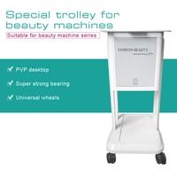 Aluminum Alloy Beauty Salon Trolley Salon Use Pedestal Rolling Cart Wheel Aluminum Stand Beauty Tools
