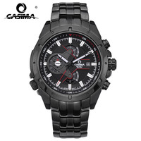 Fashionable Han Edition Men S Watch Luminous CASIMA Movement Waterproof Stainless Steel Quartz Watch Men S