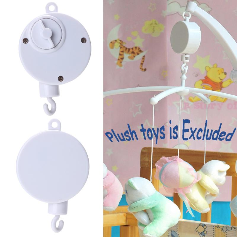 Music Songs Rotary Baby Mobile Crib Bed Bell Toy Baby Educational Toys Mobile Windup Bell Autorotation Music Box Baby Crib bed cradle musical carousel mobile bed bell support arm cradle music box with rope automatic carillon music box without toys
