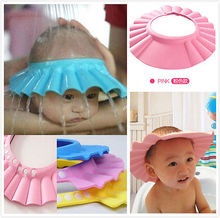 Adjustable Kids Shower Cap  Hair Shield Direct Visor Caps