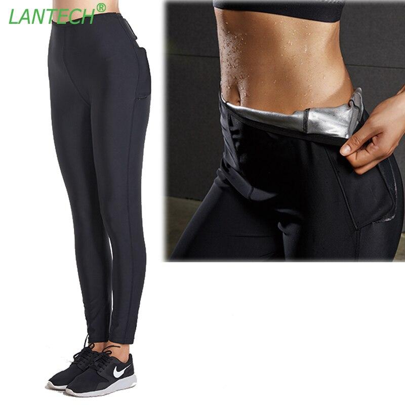 Lantech Для женщин жару тренировочные штаны спортивные Йога Леггинсы для женщин Бег Спортивная Фитнес Водонепроницаемый тренажерный зал сжатия Брюки для девочек