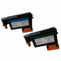 2 Pk Printhead Print Head For HP 88 C9381A C9382A Officejet Pro K550 K550dtn K550dtwm K5300