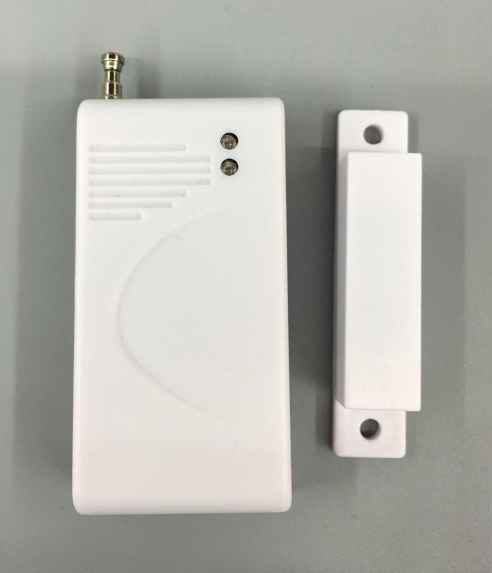 315Mhz 433MHz Wireless Magnetic Door Sensor Detector Door Contact Detect Door Close Open for G90B WIFI GSM Alarm System wireless door magnetic contact for gsm alarm system door alarm sensor