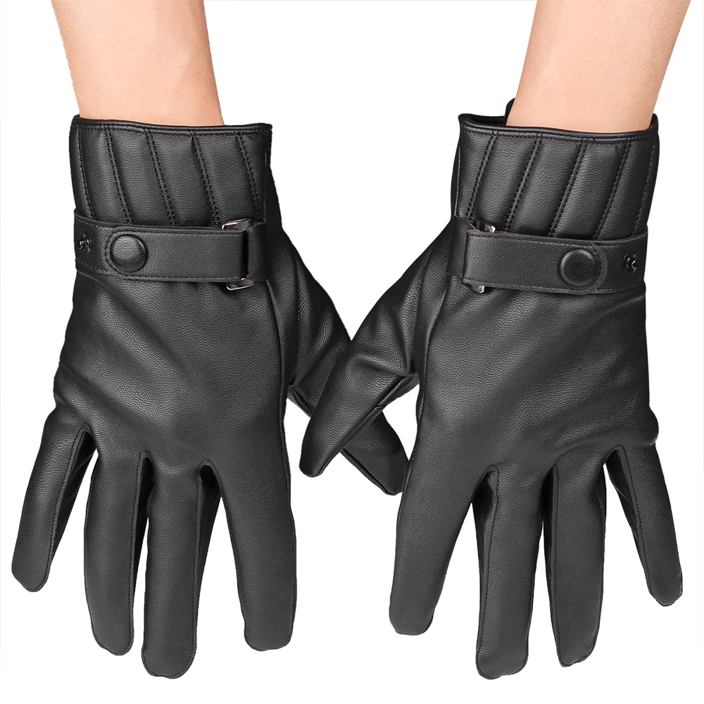 Mens gloves use iphone - Fdnwb Men S Winter Gloves Leather Glove Trendy Sheepskin Winter New Thicken Men S Gloves China