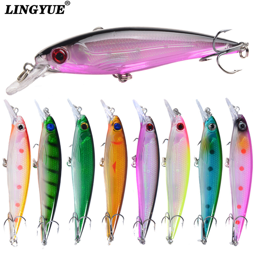 1PCS Floating Minnow Fishing Lure Laser Hard Artificial Bait 3D Eyes 11cm 13.4g Fishing Wobblers Crankbait Minnows 1pc crank wobblers minnow 11cm 10 5g fishing lure artificial hard bait 3d eyes japan fishing plastic tackle pesca yr 193