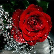 DIY Diamond painting cross stitch Painting Crafts Embroidery  Decoration Gifts 5D Mosaic Flower