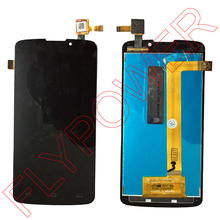 100% new lcd screen display+touch screen digitizer assembly For philips v387 by free shipping