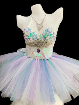 Яркие кристаллы, блестки, бюстгальтер с лямкой на шее, мини юбка, для DJ, певицы, Одежда для танцев, сексуальные, для ночного клуба, для женщин,