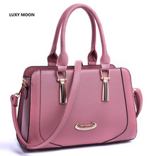 Luxy Moon 2019 New Tide Women Shoulder Casual Messenger Bag Retro Lattice Shell Bag Zipper&Hasp Fashion Crossbody Bag